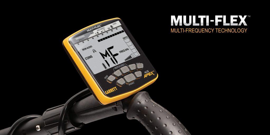 Detector multifrecuencia Garrett Apex
