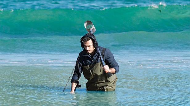 Detección metálica en agua salada