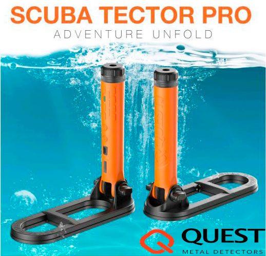 Detector de metales barato acuático