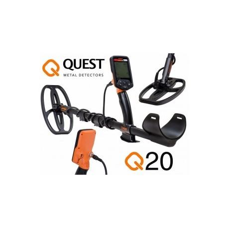 Detector de metales QUEST Q20