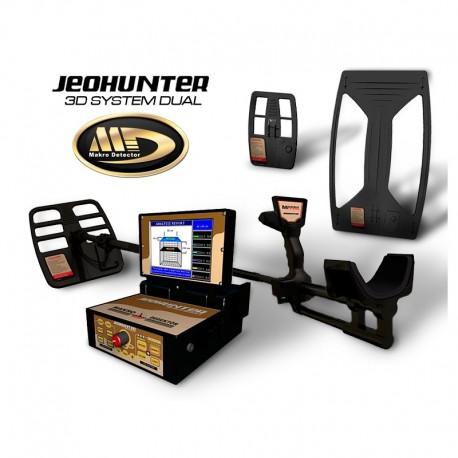 Detector de metales Makro Jeohunter Sistema Dual 3D