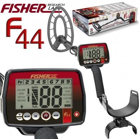Detector de metales FISHER F44