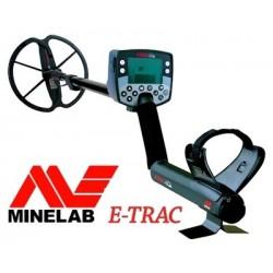 Detector de metales MINELAB E-TRAC