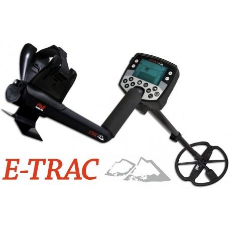 Detector de metales MINELAB E-TRAC PRO KIT