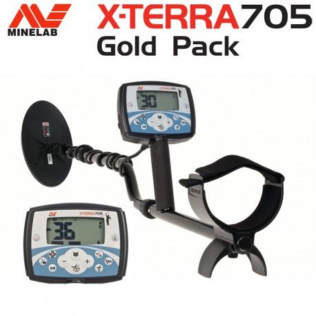 Detector de metales MINELAB X-TERRA 705 GOLD