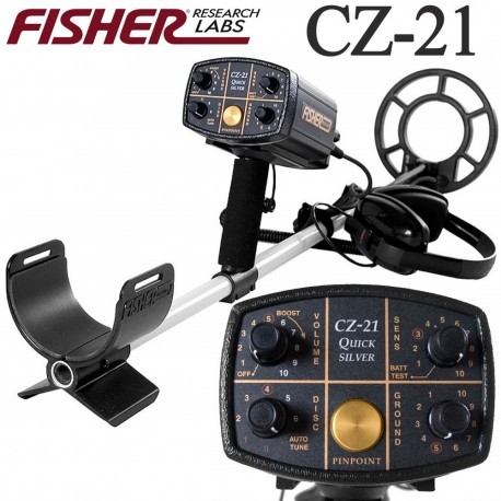 Detector de metales FISHER CZ 21