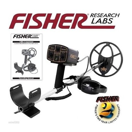 Detector de metales FISHER 1280X
