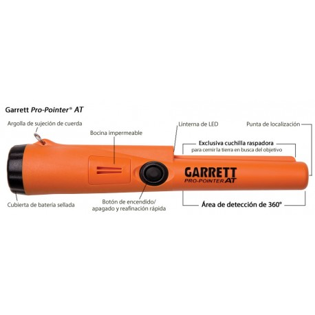 Detector de metales GARRETT AT PRO-POINTER