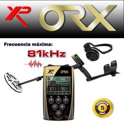 Detector de metales XP ORX PLATO ELIPTICO y AURICULARES INALAMBRICOS