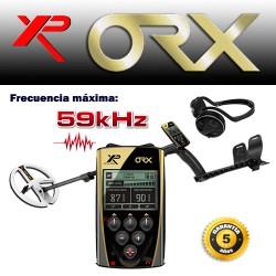 Detector de metales XP ORX PLATO REDONDO y AURICULARES INALAMBRICOS