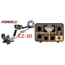 Detector de metales FISHER CZ 3D PRO