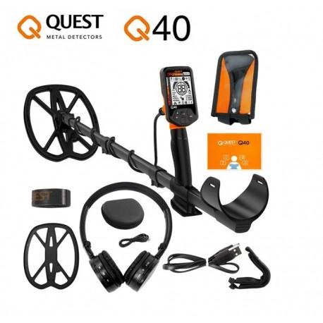 Detector de metales QUEST Q40
