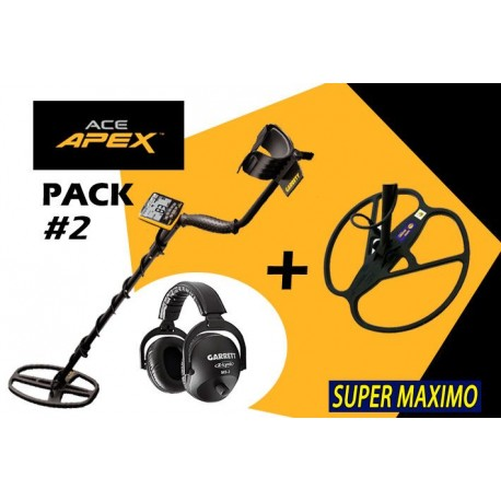 Pack GARRETT APEX WHP + SUPER MAXIMO