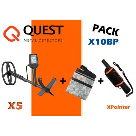 Pack QUEST X5 + XPOINTER + BANDOLERA