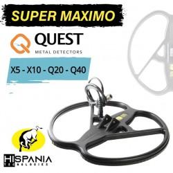 PLATO SUPER MAXIMO para detectores de metales QUEST Q20-Q40-X5-X10