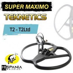 PLATO SUPER MAXIMO detectores de metales TEKNETICS T2 Y T2 LTD