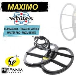 PLATO MAXIMO WHITES COINMASTER TREASURE MASTER Y PRO 27X33CM