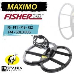 PLATO MAXIMO FISHER F5-F11-F19-F22-F44-GOLD BUG PRO 27X33CM