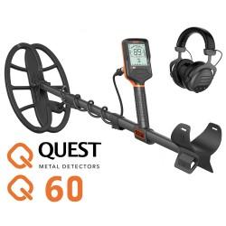 Detector de metales QUEST Q60 demostración