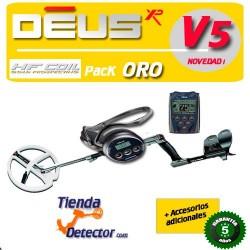 Detector de metales XP DEUS ORO PLATO HF DE 22
