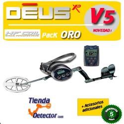 Detector de metales XP DEUS ORO PLATO HF DE 24x13