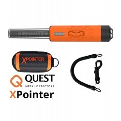 Detector de metales QUEST XPOINTER MAX