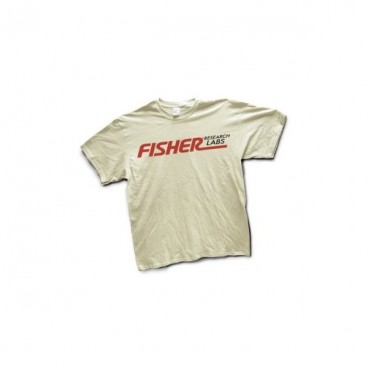 CAMISETA FISHER LABS para detectores de metales
