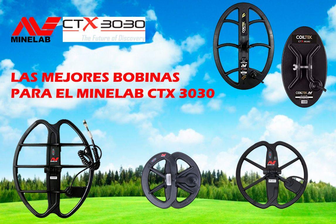 Las mejores bobinas para el Minelab CTX 3030. Toda la información!