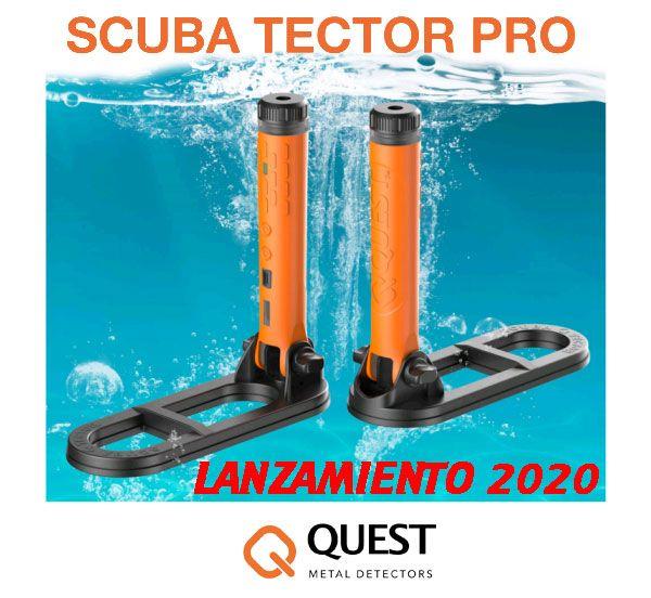 Nuevo detector acuático Scuba Tector PRO. Aquí lo tienes!