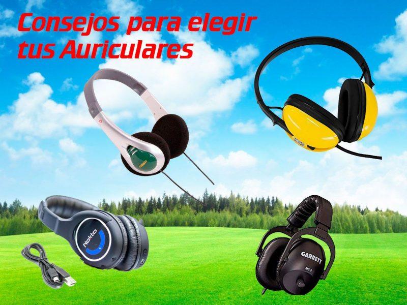 Elige auriculares para tu detector de metales. Aquí tienes unos consejos!