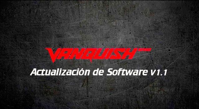 Actualización Minelab Vanquish