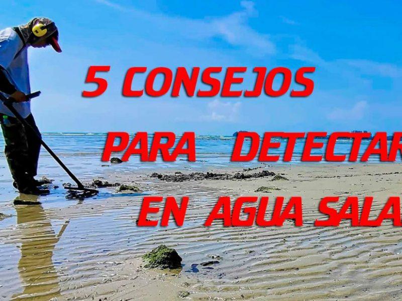 Consejos para la detección metálica en agua salada. Léelos aquí!