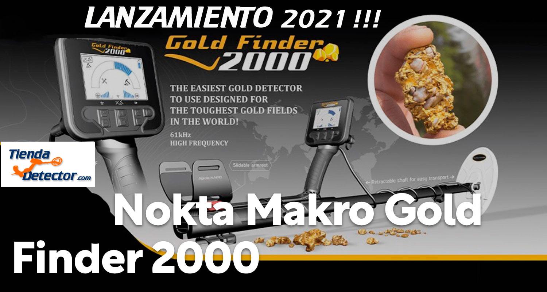 Detector de oro Nokta Gold Finder 2000