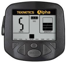 Pantalla detector Teknetics Alpha 2000