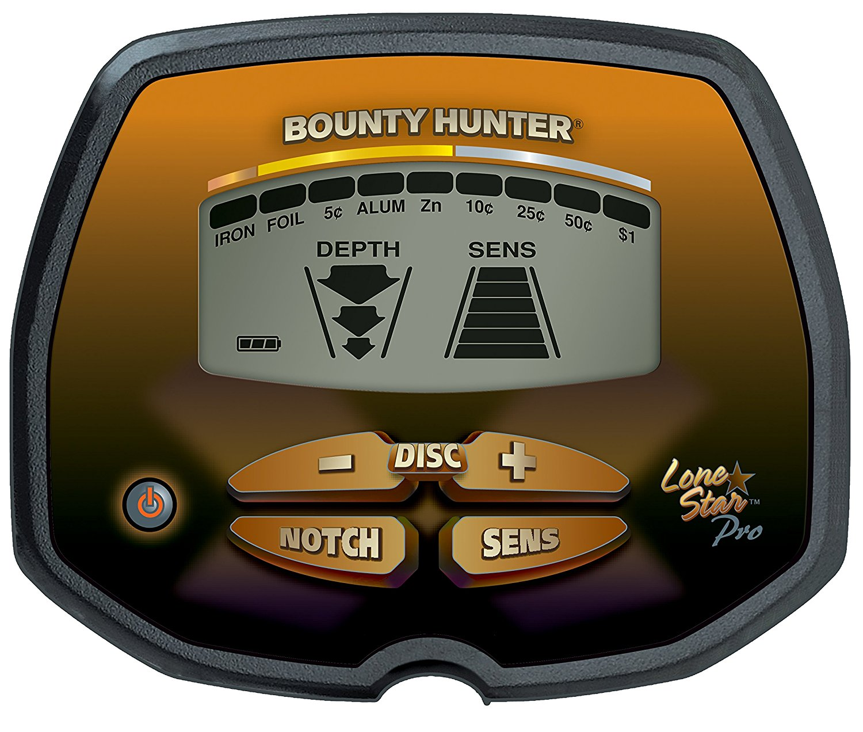 Detector de iniciación Bounty Hunter Lone Star Pro