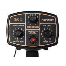 Controles detector acuático Fisher 1280X