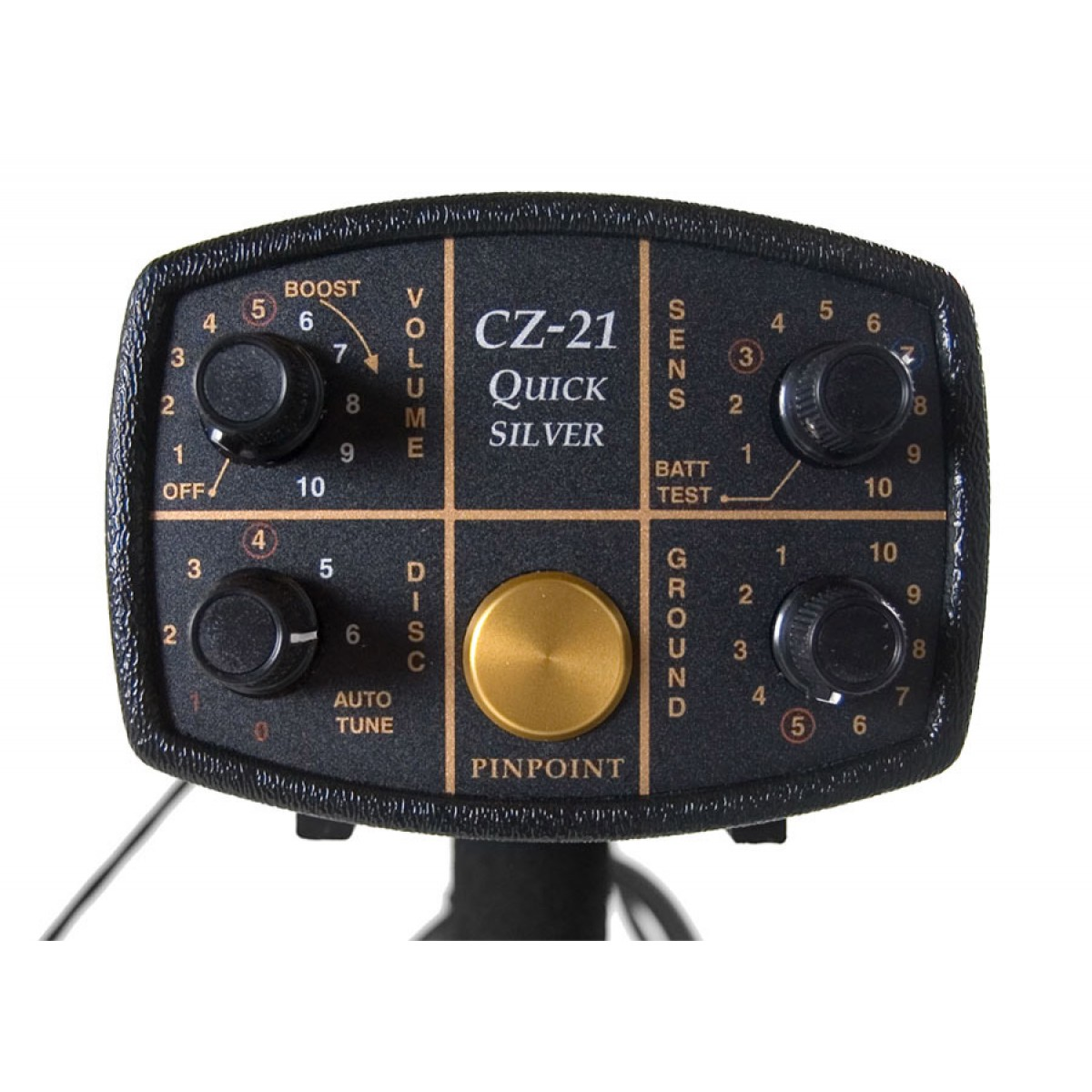 Controles detector Fisher CZ 21
