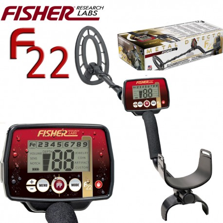 Detector de metales FISHER F22