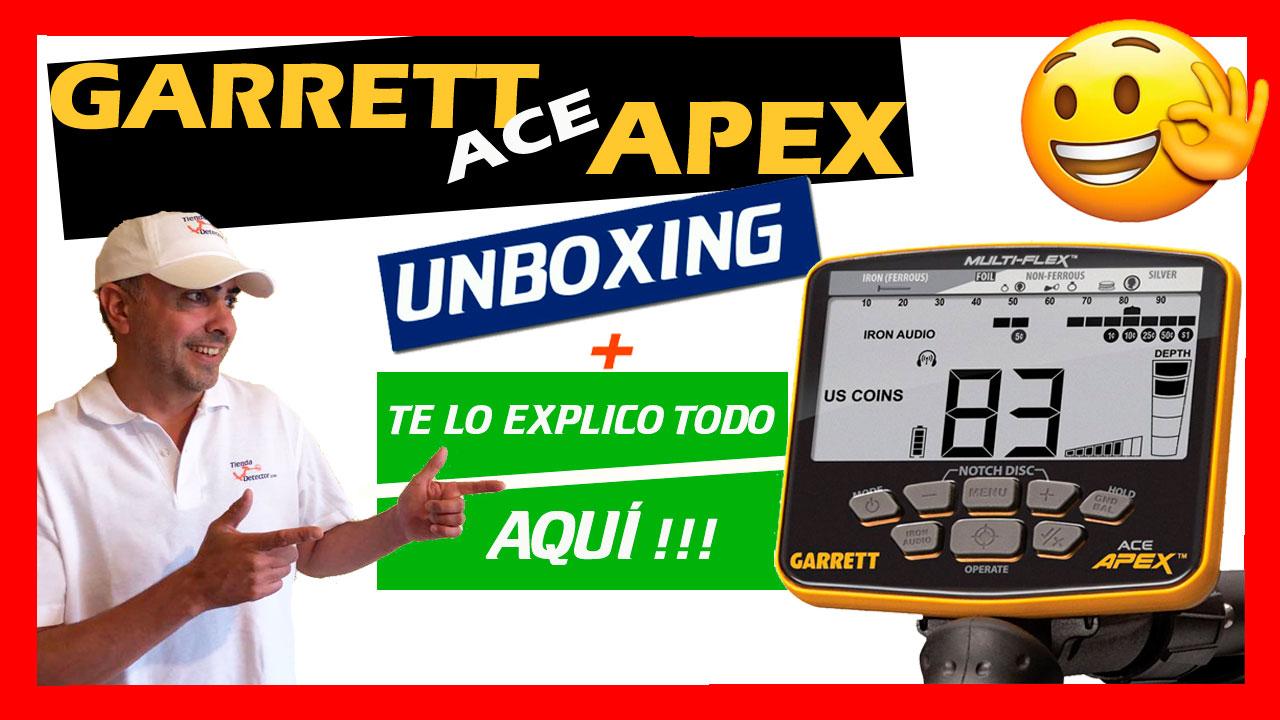 Todos los ajustes del Garrett APEX