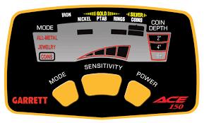Detector de monedas barato Garrett Ace 150