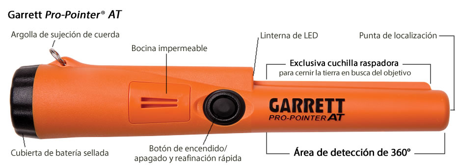 Detector de metales GARRETT AT PRO-POINTER