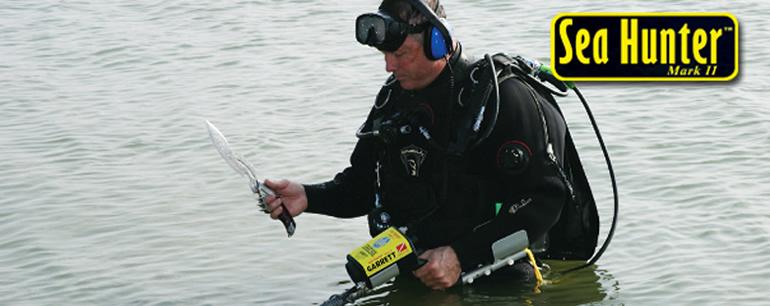 Detector submarino Garrett Sea Hunter Mark II