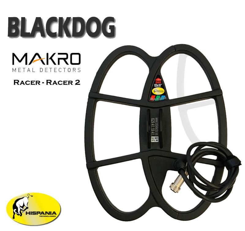 PLATO BLACKDOG para detectores de metales MAKRO RACER y RACER 2