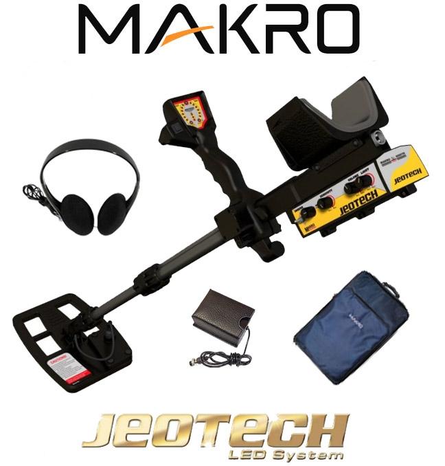 Detector de metales Makro Jeotech