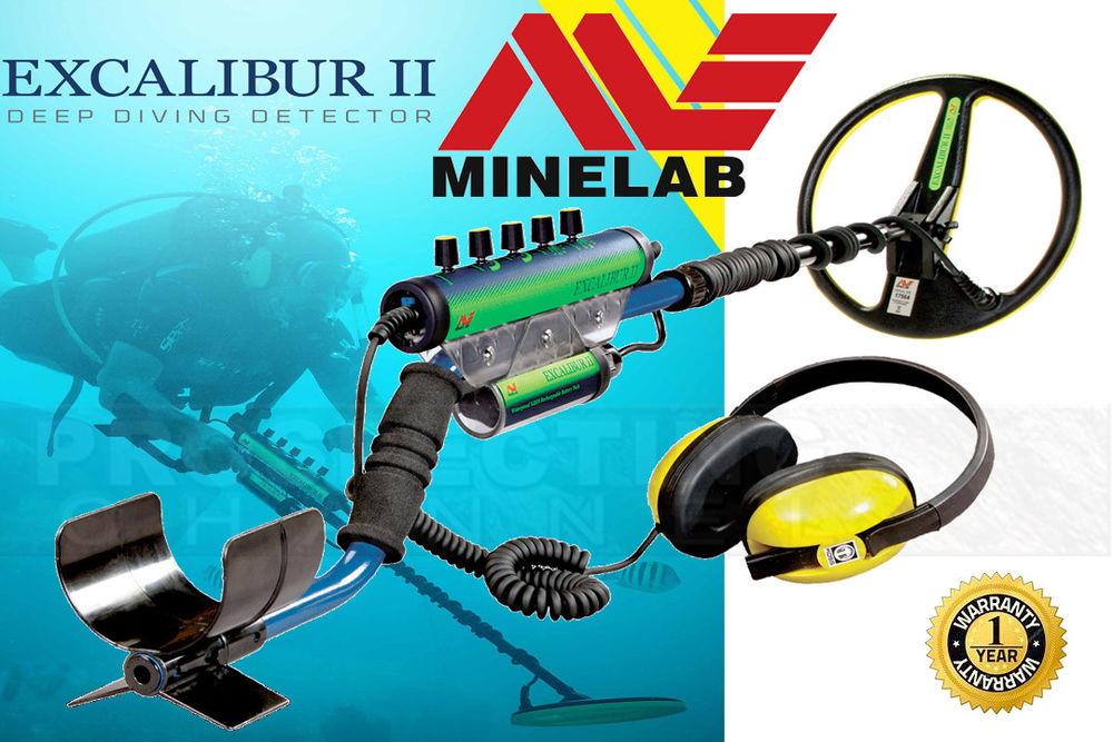 Detector acuático Minelab Excalibur II