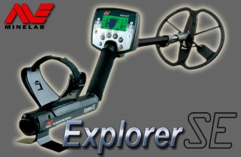 Detector de metales Minelab Explorer SE Pro