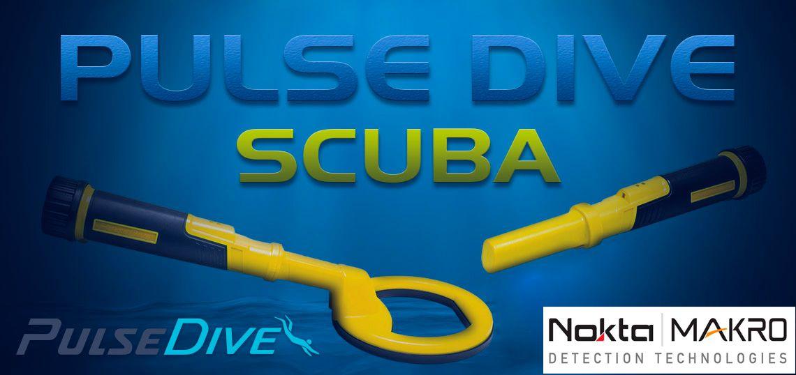 Detector de metales acuático