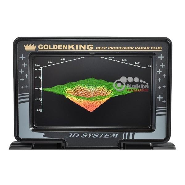 Pantalla detector gran profundidad Nokta Golden King NGR