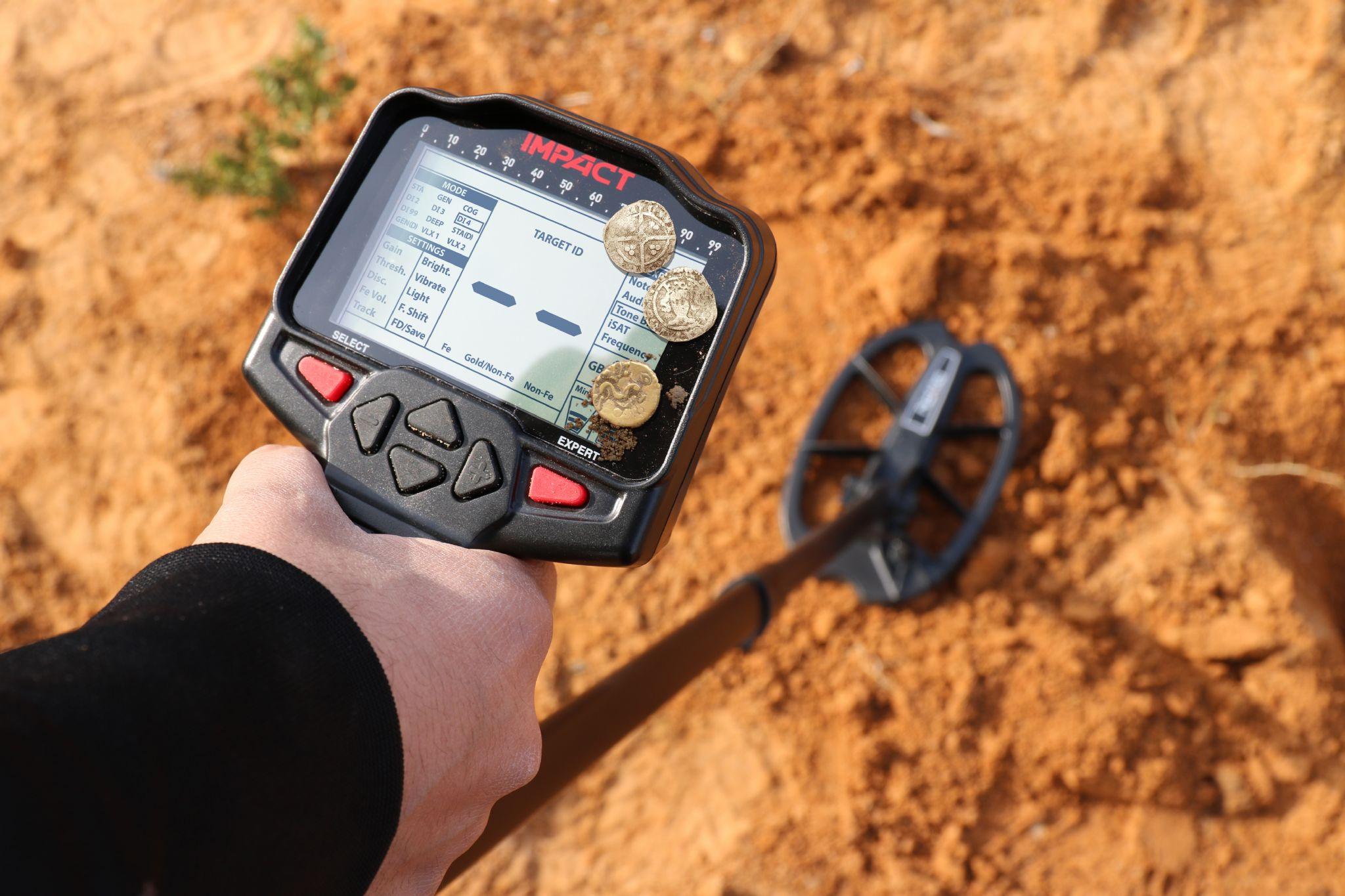 Detector de oro Nokta Impact