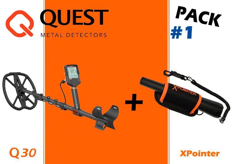 Pack detector de metales y Pinpointer